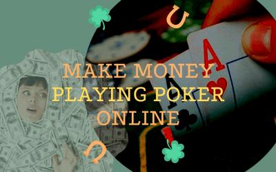 Make money online poker